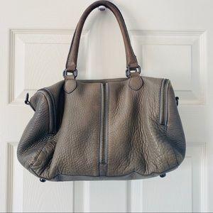 J. CREW | leather hobo crossbody shoulder bag